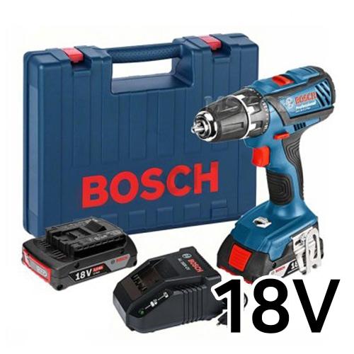 보쉬  GSB 18-2-LI Plus Professional (2.0Ah, 배터리 2개)_이미지