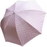 엘르 재팬도트 장우산 (핑크)
