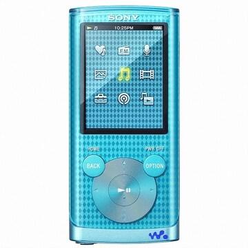 SONY Walkman NWZ-E450 Series NWZ-E453 블루 4GB_이미지