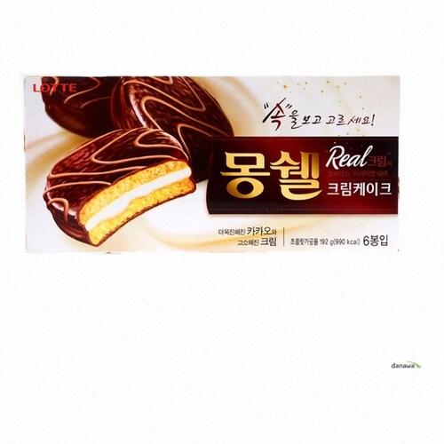 롯데제과 몽쉘 크림케이크 6개입 192g (5개)_이미지