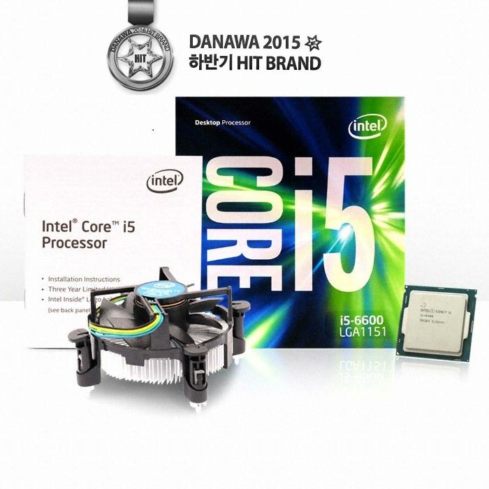 인텔 코어i5-6세대 6600 (스카이레이크) (정품)