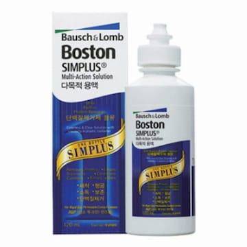 보스톤 심플러스 다목적용액 120ml(3개)