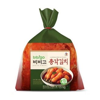 CJ제일제당 비비고 총각김치 1.5kg (1개)_이미지