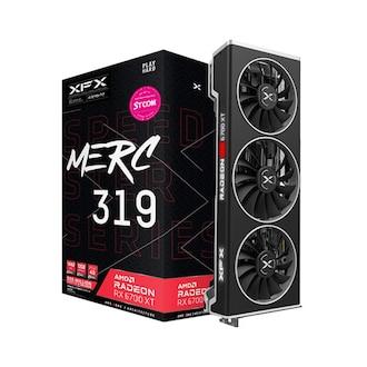 XFX 라데온 RX 6700 XT MERC 319 BLACK D6 12GB_이미지