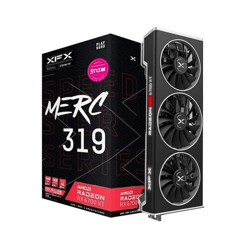 (실재고보유) XFX 라데온 RX 6700 XT MERC 319 BLACK D6 12GB