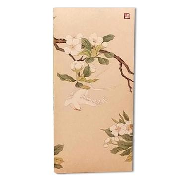 마야캘리그라피 민화 돈봉투 G 배꽃과 흰제비