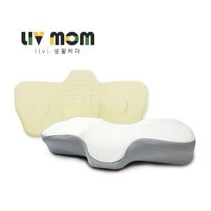 리브맘  프리미엄 3D 경추 메모리폼 베개 (60x32cm)