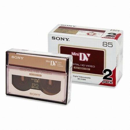 SONY DVM85HD 6mm 2EA 1Pack DV테이프_이미지