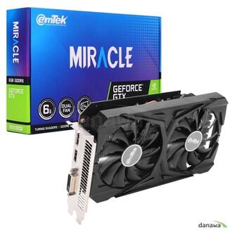 이엠텍 지포스 GTX 1660 SUPER MIRACLE D6 6GB_이미지