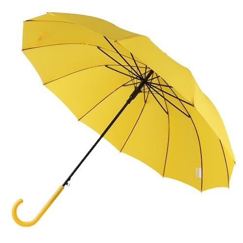 바니브라운  비오니 12K 솔리드 곡자 자동 장우산_이미지