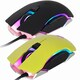 ABKO HACKER A580 RGB LED 게이밍 마우스 (옐로우)_이미지