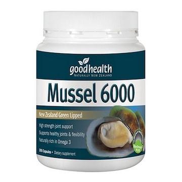 굿헬스 초록입홍합 Mussel 6000 300캡슐(3개)