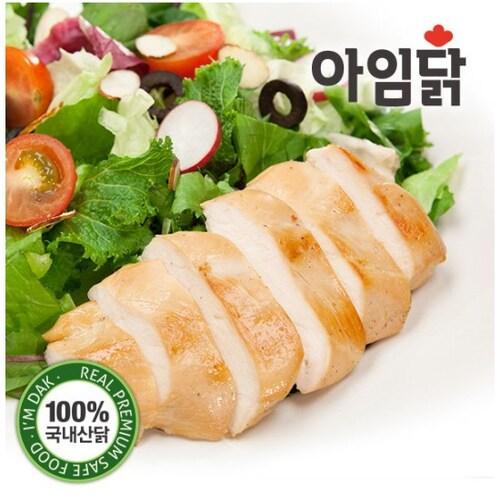와이즈유엑스글로벌 아임닭 닭가슴살 부드러운 훈제 150g (1개)_이미지