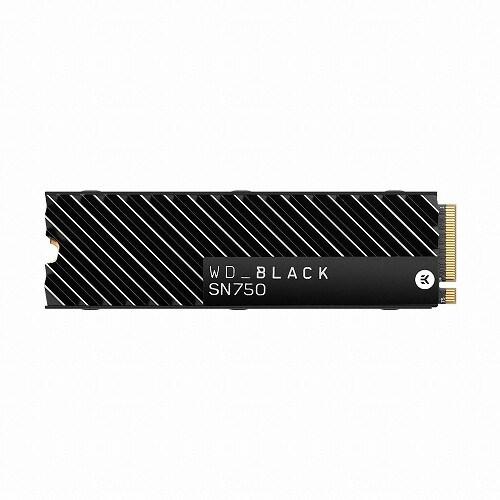 Western Digital WD BLACK SN750 히트싱크 M.2 NVMe (500GB)_이미지
