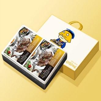 바라던유통 바라던 집밥 양념 LA갈비 선물세트 2kg (1개)_이미지