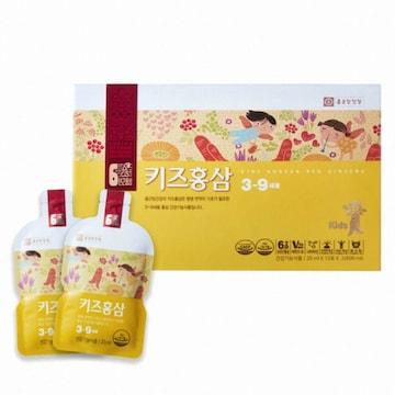 종근당건강  키즈홍삼 3-9세용 20ml 30포 (1개)