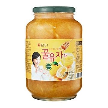 담터  꿀유자차 2kg (1개)