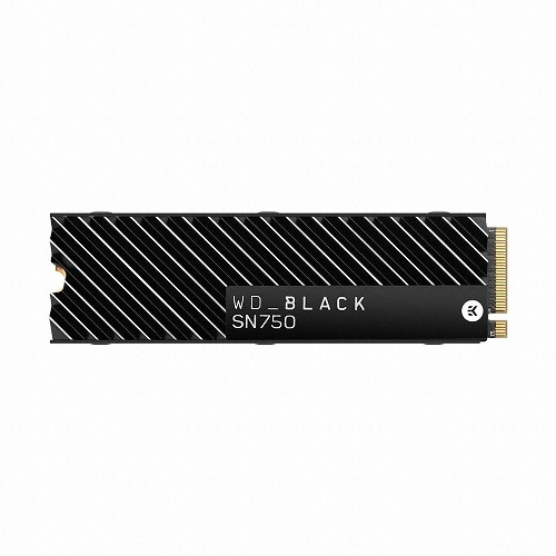 Western Digital WD BLACK SN750 히트싱크 M.2 NVMe (1TB)_이미지