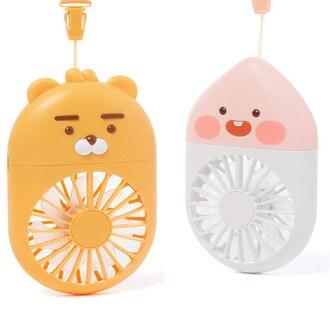 카카오프렌즈 목걸이형 선풍기_이미지