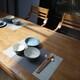 디센 마제스틱 원목 식탁세트 1750 (의자3개+벤치1개)_이미지