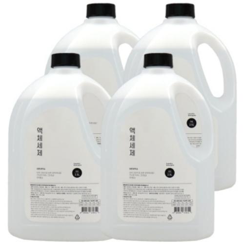 에코프렌즈 바른세탁소 액체세제 2.5L(4개)