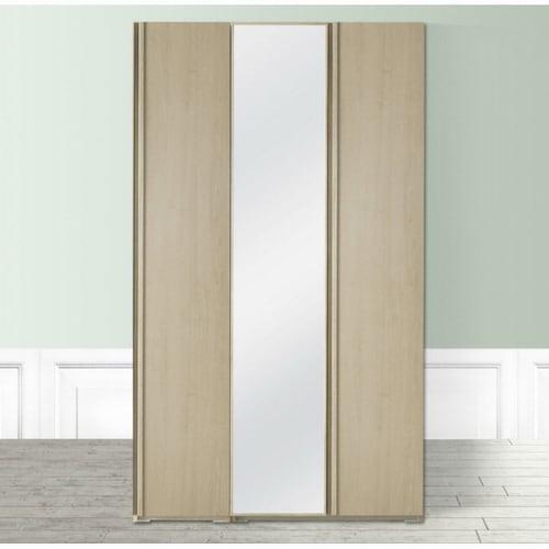 올리앤올슨 파로마 레디 거울 옷장세트 행거형 (120cm)_이미지