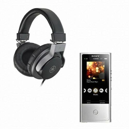 SONY Walkman NW-ZX100 128GB + 야마하 HPH-MT7 헤드폰 (정품)_이미지