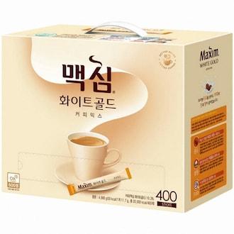 동서식품 맥심 화이트골드 커피믹스 스틱 400T (1개)_이미지