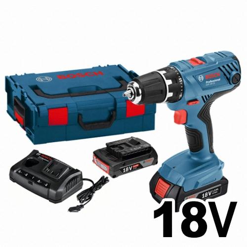 보쉬 GSR 18V-21 Professional (3.0Ah, 배터리 2개)_이미지