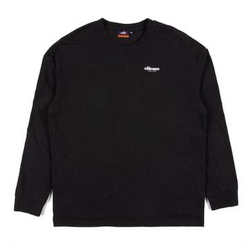 엘레쎄  베이직 로고 티셔츠 EJ1MHTR311 BK