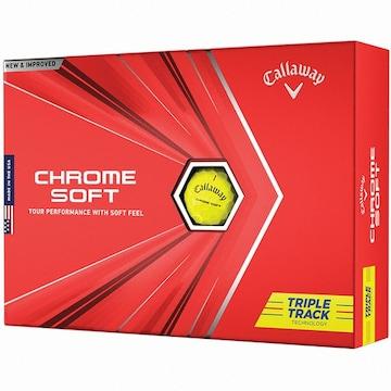 캘러웨이 크롬소프트 20(트리플 트랙, 컬러공, 12개)