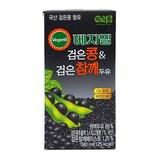 정식품 베지밀 검은콩과 검은참깨 두유 190ml (72개)
