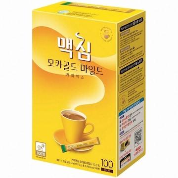 동서식품 맥심 모카골드 마일드 커피믹스 스틱 100T (박스형) (1개)
