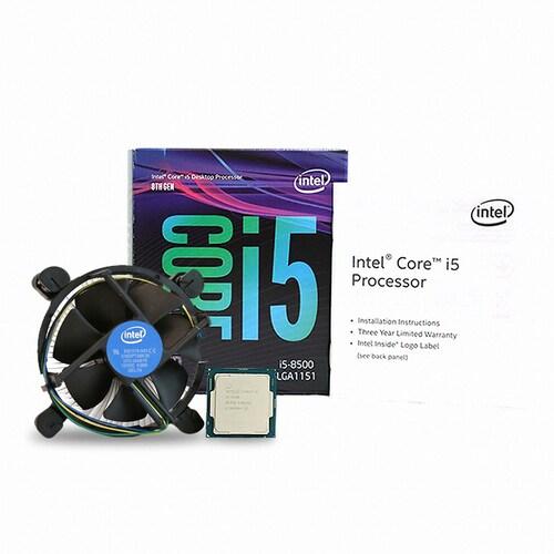 인텔 코어i5-8세대 8500 (커피레이크) (정품)_이미지
