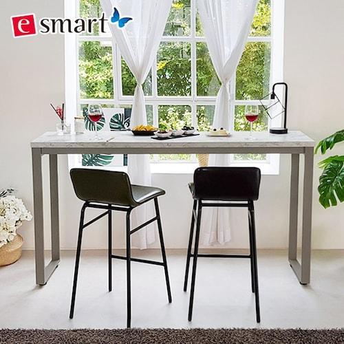 e스마트 스틸마블 홈바 사이드테이블 1200 (의자별도)_이미지