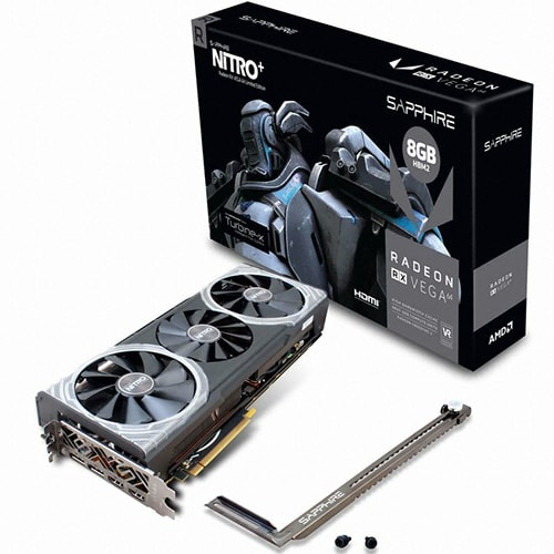 SAPPHIRE  라데온 RX Vega 64 NITRO+ Limited Edition HBM2 8GB Turbine-X_이미지