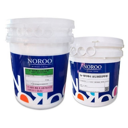노루페인트 뉴워터폭시 DHDC-2600WF 수성 에폭시 2액형 상도 (16kg)_이미지