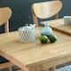 아씨방 쿠쿠 확장형 식탁세트 (의자2개)_이미지