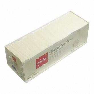 썬리취 무색소 체다 슬라이스 치즈 1.8kg (1개)_이미지