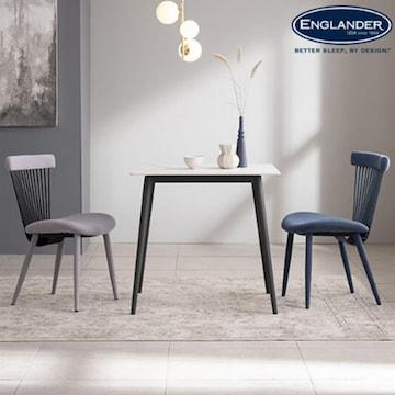 잉글랜더 포카치아 통세라믹 식탁세트 800 (의자2개)_이미지