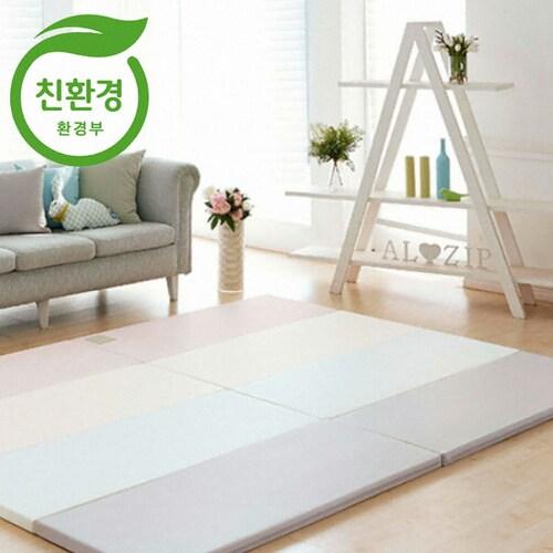 제이월드산업 알집매트 에코 실리온매트 모던핑크 (200x140x4cm)