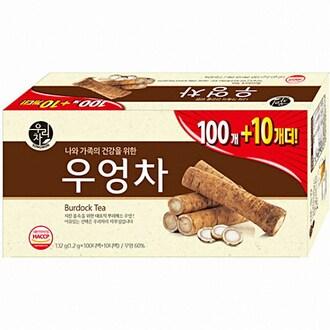 송원식품 우리차 우엉차 110T (1개)_이미지