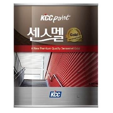 KCC 센스멜 골드 에나멜 페인트(1L)