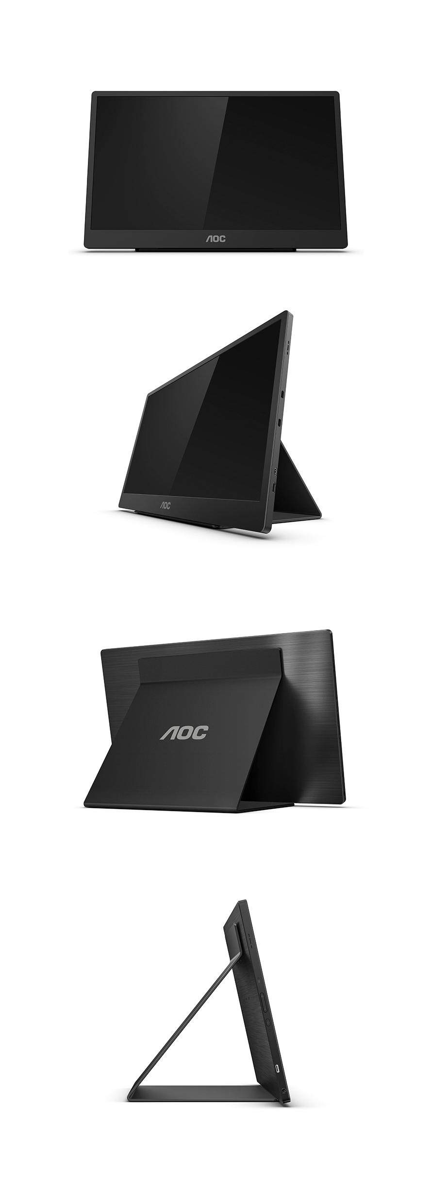 알파스캔 AOC 16T2 USB-C 멀티터치 포터블 무결점