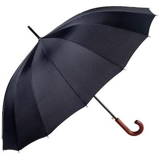 파라체이스 곡자 레드우드 그립 대형 자동 장우산 G2_이미지