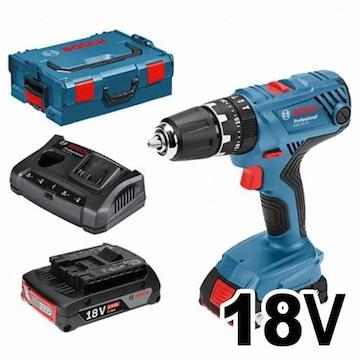 보쉬  GSB 18V-21 Professional (3.0Ah, 배터리 2개)