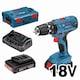 보쉬  GSB 18V-21 Professional (3.0Ah, 배터리 2개)_이미지