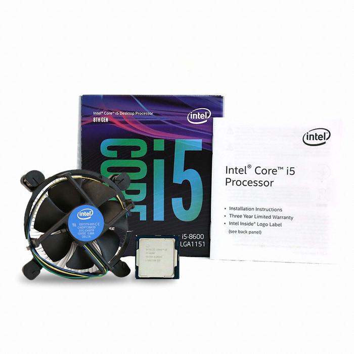 인텔 코어i5-8세대 8600 (커피레이크) (정품)
