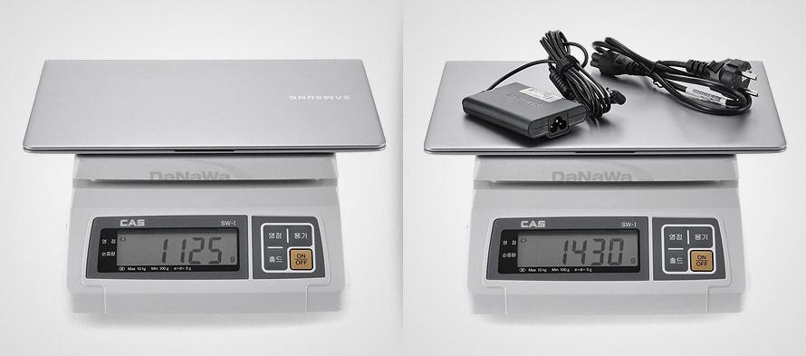 삼성전자 시리즈9 NT900X3D-A65S 무게