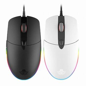 앱코 HACKER A200 3050 RGB 게이밍 마우스 (화이트)_이미지
